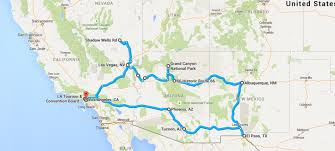 map your usa road trip southwest american road trip atc