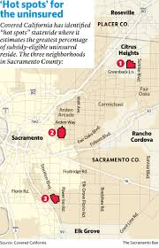 Zip Code Map Sacramento by Uninsured Covered California U0027s Final Enrollment Push Ends This