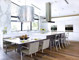 split level kitchen island island overhang kitchen contemporary with flat top stove stainless