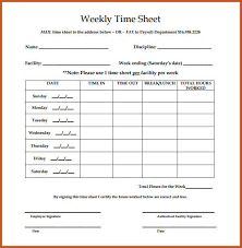 time sheet template weekly timesheet template free download 12