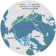 trading pattern shipping arctic shipping route could change the world shipping pattern