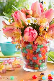 easter arrangements centerpieces jellybean easter centerpiece macsuzie