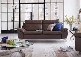 Natuzzi Leather Recliner Sofa Furniture An Living Room With Natuzzi Leather