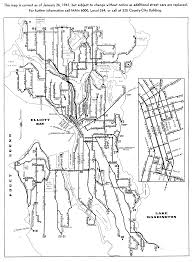 San Francisco Streetcar Map Historic Streetcar Maps Theodore Ditsek