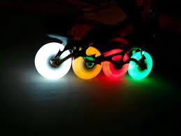 light up roller skate wheels free shipping roller skates wheels lighting wheels 90a pu four color