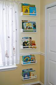 kids corner bookcase decorating color floating shelves corner wall shelf design ideas