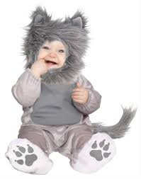 infant costume lil gray wolf infant costume state fair seasons
