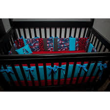 Rock N Roll Crib Bedding Totally Customizable Boy Guitar Skull Rocker Rock And Roll