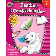 reading comprehension grade ready set learn reading comprehension grade 1 tcr5968