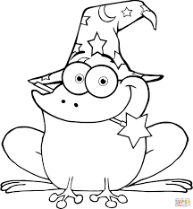 printable frog coloring pages kids picture animal bull