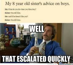 Little Sister Meme - overly attached little sister by ziko21 meme center