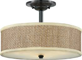 Semi Flush Pendant Lighting This Zen Semiflush From Quoizel Also Comes As A Pendant The