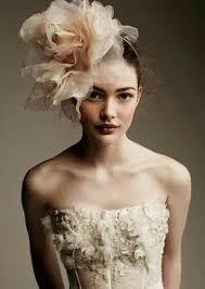 chapeau pour mariage coiffure de mariage avec chapeaux bibi