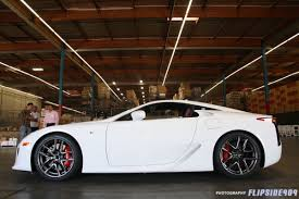 lfa lexus red exclusive lfas arrive in the usa the six part 2