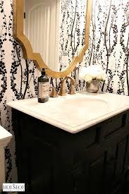 tempaper wallpaper tempaper self adhesive wallpaper bathroom reveal the house of