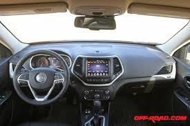 Jeep Cherokee Sport Interior 2017 Jeep Cherokee Trailhawk Review Off Road Com