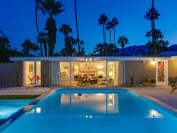 the arrow of twin palms midcentury alexander vacation palm springs
