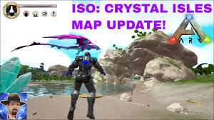 iso map ark survival evolved iso isles map update