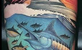 10 fishing tattoos