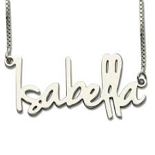 s day necklaces personalized personalized sterling silver tiny name necklace retro style