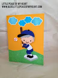 peace of my baseball birthday card