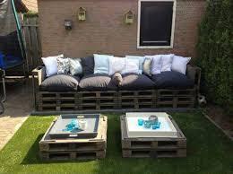 divano giardino divano e tavolo doppio pallet per il giardino 2mobili con pallet