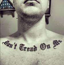 Don T Tread On Me Tattoo Ideas Flag Case On The Wall And A U201cdon U0027t Tread On Me U201d Tattoo Good For