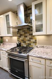 Pic Of Kitchen Backsplash How To Pick Backsplash Kitchen Design Tips Cabinets Com