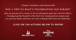 macy s thanksgiving day parade giveaway