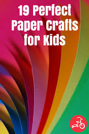 Paper Craft Designs For Kids - 19 amazing and easy paper craft ideas for kids