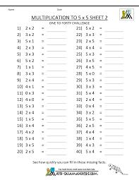 multiplication worksheets for grade 2 worksheets