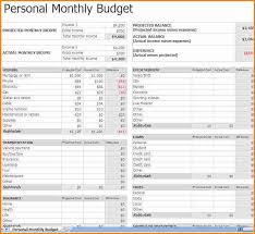 7 monthly household budget authorization letter