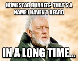 Runner Meme - i got a text message from a friend telling me to check the homestar