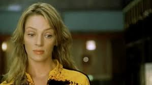 uma thurmans hair in kill bill uma thurman stars in the super violent kill bill volume 1 daily