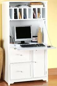 Compact Desk With Hutch Desk With Hutch Oxford Desk 1 Drawer White