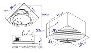 Bathtubs Sizes Standard Jacuzzi Bathtub Standard Size Tubethevote