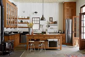 Cabin Style Home Decor Log Cabin Kitchens With Modern And Rustic Style Homestylediary Com
