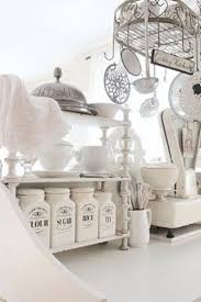 farmhouse kitchen canister sets and farmhouse decor ideas stunning french white country kitchen with a shabby chic flair farmhouse kitchen canisters