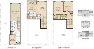 garage office plans remarkable 4 bedroom plus office house plans images exterior