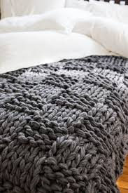 knitting pattern for chunky arm knit throw in basketweave and more