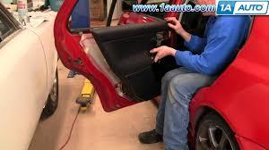 how to install remove rear door panel volkswagen vw golf jetta 93