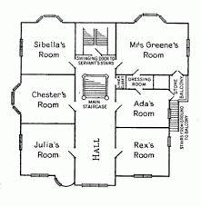 floor plan of the secret annex the greene murder case