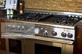 Oven Backsplash Contemporary Stainless Steel Stove Oven With Tile Backsplash