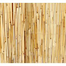 backyard x scapes black rolled bamboo fencing home outdoor