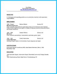 Mechanic Sample Resume by Vehicle Mechanic Sample Resume Public Health Resume Sample