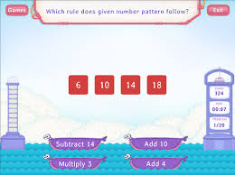 pattern practice games extend number patterns rule not mentioned practice with fun math