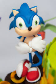 sonic the hedgehog cake topper this sonic the hedgehog cake cant be beat between the pages
