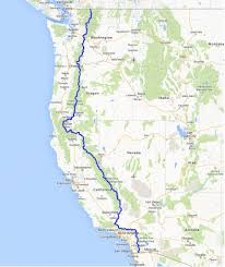 Yosemite Park Map Pacific Crest Trail Yosemite National Park Image Gallery Hcpr