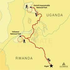 Rwanda World Map by 5 Day Uganda And Rwanda Gorillas Ultimate Expeditions