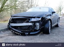 crashed subaru wrx front end damage stock photos u0026 front end damage stock images alamy